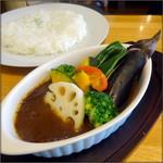 北18条 クロック+G - 同行者の野菜カレー【期間限定】