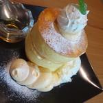 Cafe brunch TAMAGOYA - プレミアムパンケーキ