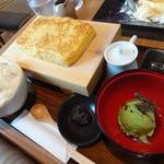 Cafe brunch TAMAGOYA - たまごヤーキ