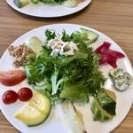 肉と野菜の農家イタリアン アリガト - 料理写真:野菜美味しい♡前菜