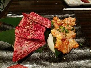 焼肉もとやま 新宿店 - 本日の希少部位二種タレ