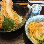古蝶庵 - 天丼セット
