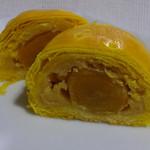 中華菜館 同發 - 蛋黄奶油酥(塩玉子入りカスタードパイ)