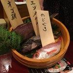 89457735 - 本日のお魚:店員さんが丁寧に説明頂けます。