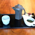 茶彩 絲 - 花籠御膳 1998円 の煎茶