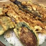 豊野丼 - 鰈天丼