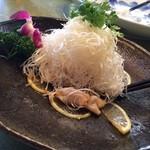 新愛園 - 「ミル貝とねぎの和え物」