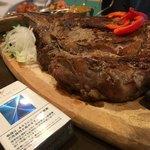 メキシコビーフ鉄板食堂 アプレシオ - トマホーク 1.1kg