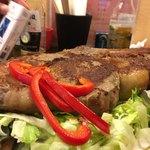 メキシコビーフ鉄板食堂 アプレシオ - でっかー!