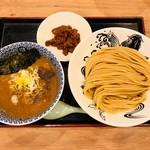 日本の中華そば富田 - 料理写真:辛味挽肉つけ麺(1,040円)