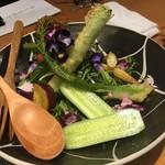 金沢炉端 魚界人 - 加賀百万石サラダ