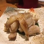金沢炉端 魚界人 - 生干しのカスベ