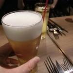 鉄板 ニシムラ - キリン一番搾り《極上》生ビール