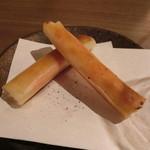 鉄板 ニシムラ - 明太じゃがバター春巻き