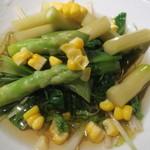 酒菜家 - 野菜のおひたし