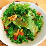 食堂 サジロ - ランチのサラダ