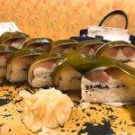 魚市 - 鯖の棒鮨