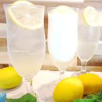 SUNROADKitchen西明石店 - 瀬戸内産レモンをふんだんに盛り込んだレモネード3種をご用意