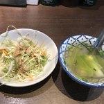 サイアム ビービーキュー - サラダとスープ