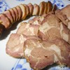 富士竹 - 料理写真:炭火焼ワニ肉&炭火焼ラム肩ロース