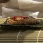 菊鮨 - 穴子の手巻き