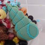 グラムファクトリー - ブルーベリーグラム+トッピング④アイシングクッキー