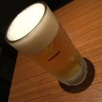 鳥げん - ドリンク写真:鳥げん  ビール