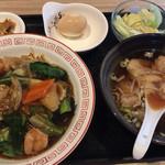 中華料理 大創苑 - 海鮮あんかけやきそば