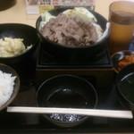 肉のヤマキ商店 - 焼肉定食