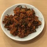 ラーメン壱好 - 辛子高菜(無料トッピング)