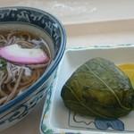 道の駅 くちくまの - 料理写真:『肉そば』と名物『めはり』