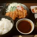 きわ美鶏 恵比寿 - チキンカツ定食