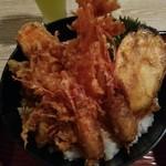 北浜あなごや 日本酒と酒肴 - 天丼アップ