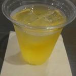 スタンダードブックストア あべの - セットのアップルジュース