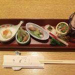 きばらし - 料理写真:前菜 2018.04.09