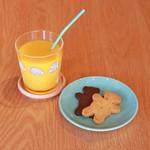 Forest Coffee Roasters - コーヒー牛乳orジュースにクッキーのキッズセット