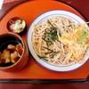 うどん亭 なべきち - 料理写真:もりもり(かきげ付き)2L(4玉)肉汁