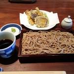 真田 - 蕎麦と野菜の天ぷら
