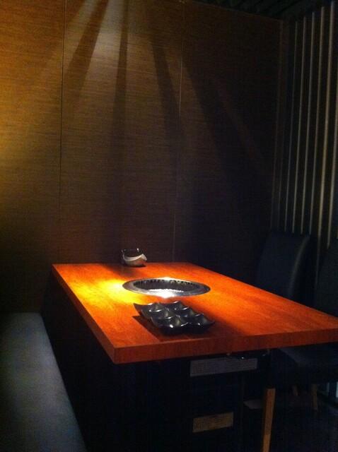 BAKURO - すごい高級感のある個室でした。特別な日にも利用したいですね。