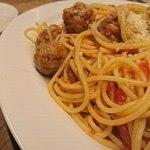 THE DAY FOOD LAB - ラム肉のミートボールスパゲッティこれもワインにベストマッチ!