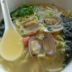 大島 - 澄んだ黄金色のスープ!(*´∀`)