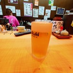 家庭居酒屋 楽 - ドリンク写真:生ビール♡
