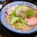島田製麺食堂 - 飛魚そば