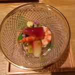 89483963 - 野菜と魚介のジュレ