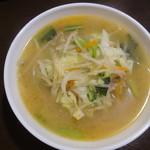 89485261 - 野菜たっぷり塩味タン麺
