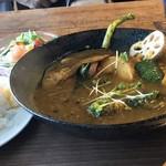 Green Cafe 川の駅 - 野菜を食べるスープカレー