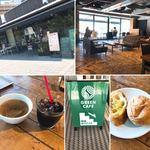 Green Cafe 川の駅 - 外観、店内、スープ&ドリンクはお代わり自由、パスタのパン、案内
