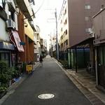 五番 - この路地裏に店はありました。