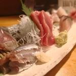 天史朗寿司 - 刺身盛合せ