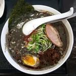 89490818 - 黒ゴマタンタン麺